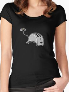 Toaster Dog Women's Fitted Scoop T-Shirt