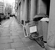 Neglect - Homeless in London by Rhys Herbert