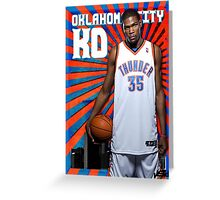 Kevin Durant Greeting Card