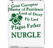 Nurgle, the Plague Father Green iPad Case/Skin