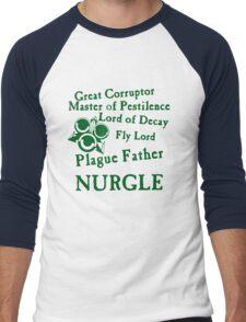 Nurgle, the Plague Father Green Men's Baseball ¾ T-Shirt