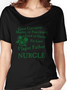 Nurgle, the Plague Father Green Women's Relaxed Fit T-Shirt