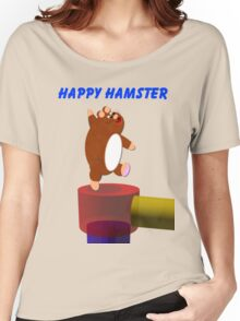 Happy Hamster Women's Relaxed Fit T-Shirt