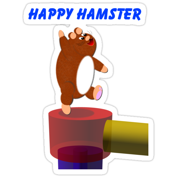 Happy Hamster by EddyG
