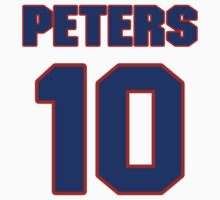 National Hockey player Jimmy Peters jersey 10 by imsport