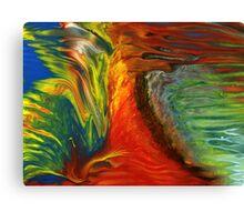 Crazy Chicken Canvas Print