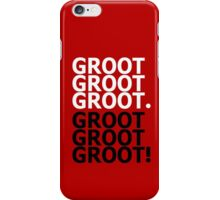 Groot. Get over it! iPhone Case/Skin