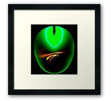 Ringo green dressed for tea..... Framed Print