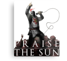 Knight Solaire of Astora - Praise The Sun! Metal Print