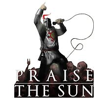 Knight Solaire of Astora - Praise The Sun! Photographic Print