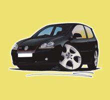 VW Golf GTi (Mk5) Black Kids Clothes