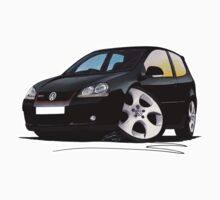 VW Golf GTi (Mk5) Black One Piece - Long Sleeve