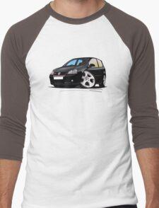 VW Golf GTi (Mk5) Black Men's Baseball ¾ T-Shirt