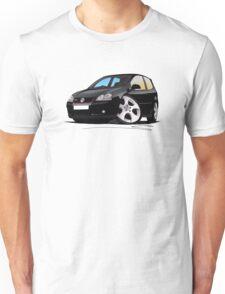 VW Golf GTi (Mk5) Black T-Shirt