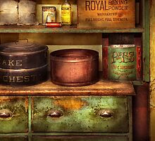 Chef - Kitchen - Food - The cake chest by Mike  Savad