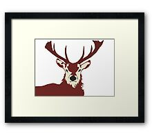 One Nutty Stag Night Framed Print