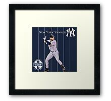 New York Yankees Captain Derek Jeter Framed Print