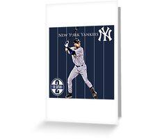 New York Yankees Captain Derek Jeter Greeting Card