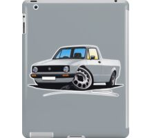 VW Caddy Silver iPad Case/Skin