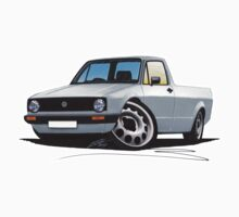 VW Caddy Silver Kids Tee