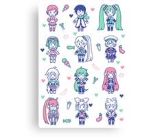 Vocaloid Mix Canvas Print