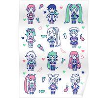 Vocaloid Mix Poster