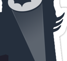 A Bat in the Night! Sticker