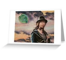 """""""Lucy In the Sky With Diamonds (War Is Over)"""" Greeting Card"""