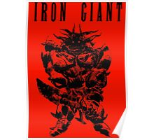 Iron Giant Final Fantasy Poster