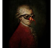Steampunk Mozart Photographic Print