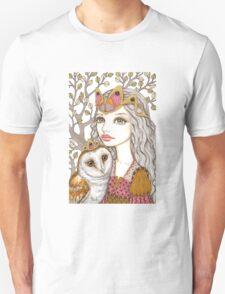 Sisterhood of the white owl Unisex T-Shirt