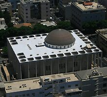 The Great Synagogue of Tel-Aviv by Segalili