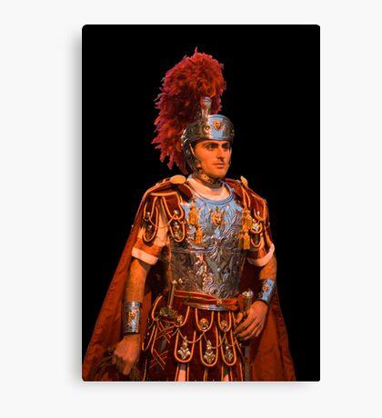 The roman soldier Canvas Print