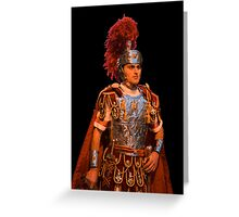 The roman soldier Greeting Card