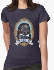 Puganini Womens Fitted T-Shirt