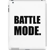 Battle Mode iPad Case/Skin