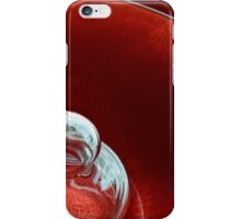 Reflecting on Red iPhone Case/Skin
