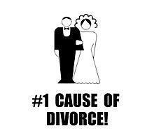 Cause Of Divorce Photographic Print