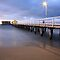 Queenscliff Pier Autumn Dawn, Victoria, Australia by Michael Boniwell