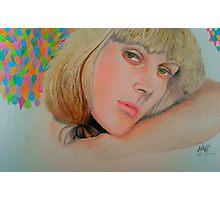 Blonde Bombshell Photographic Print