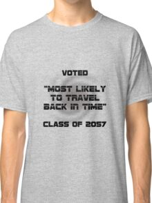 Voted Time Travel Classic T-Shirt