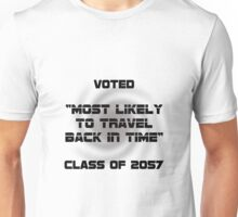 Voted Time Travel Unisex T-Shirt