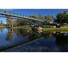 Uni Footbridge. Photographic Print