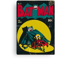 Batman and Robin/Adventure time Mashup Canvas Print