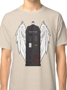 SuperWhoLock Tardis Classic T-Shirt