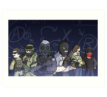 The Global Offensive-ers Art Print