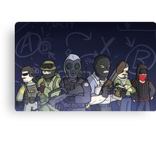 The Global Offensive-ers Canvas Print