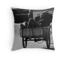 street scene 2 Throw Pillow