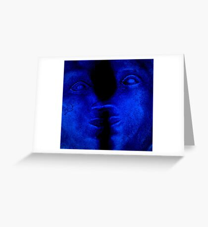 ONE FACE OR TWO? Greeting Card