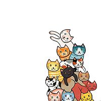 Cat Tower by beesants